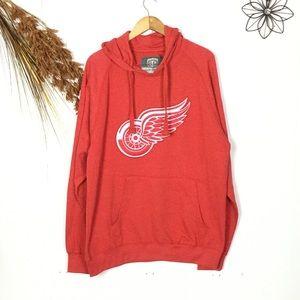 Men's Red Wings hoodie XL NWT
